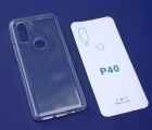 Чехол Motorola Moto One Power P40 прозрачный - фото 2