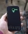 Чехол Motorola Moto X hard shell черный - изображение 4