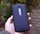 Чехол Motorola Moto X Play чёрный матовый