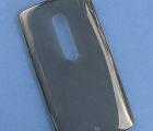 Чехол Motorola Moto X Play / Droid Maxx 2 дымчатый серый Remax
