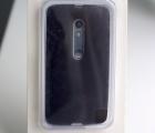 Чехол Motorola Moto X Play / Droid Maxx 2 чёрный - фото 3