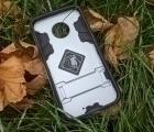 Чехол Motorola Moto X4 Honor серебро - фото 2