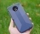 Чехол Motorola Moto Z2 Force Speck Presidio Grip синий - фото 1