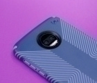 Чехол Motorola Moto Z2 Force Speck Presidio Grip синий - фото 3