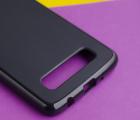 Чехол Motorola Moto Z4 черный матовый - фото 4