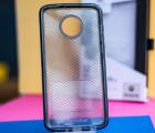 Чехол Motorola Moto Z4 Tech21 Evo Check чёрный