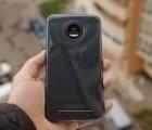 Чехол Motorola Moto Z Speck синий - изображение 2