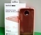 Чехол Motorola Moto Z Tech21 оранж - изображение 2