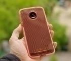 Чехол Motorola Moto Z Tech21 оранж - изображение 3