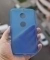 Чехол Motorola Goole Nexus 6 силикон синий - изображение 2