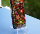 Чехол Motorola Droid Razr M xt907 цветы текстура