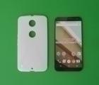 Чехол Motorola Google Nexus 6 белый - изображение 3