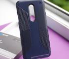 Чехол OnePlus 7 Pro Speck Presidio Grip Eclipse Blue/Carbon Black
