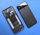 Крышка (корпус) Google Pixel 3a A-сток чёрный