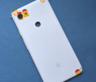 Крышка (корпус) Google Pixel 3a XL новый белая