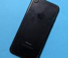 Корпус (крышка) Apple iPhone 7 чёрный C-сток