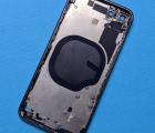 Корпус рамка боковая Apple iPhone 8 чёрная B-сток