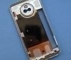 Корпус Motorola Moto X4 рамка металлическая голубая А-сток