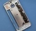 Корпус Motorola Moto X4 рамка металлическая голубая А-сток - фото 2