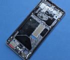 Рамка корпуса боковая OnePlus 7T Frosted Silver серебро А-сток