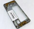 Корпус рамка боковая Samsung Galaxy Note 5 серый А-сток
