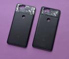 Корпус крышка Google Pixel 2 C-сток без стекла чёрный