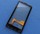 Сенсор Motorola Droid X в рамке чёрный
