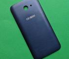 Крышка Alcatel A30 синяя A-сток