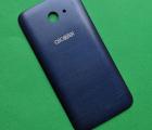 Крышка Alcatel A30 синяя B-сток