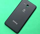 Крышка Alcatel Fierce XL 5054 чёрная (А-сток) оригинал
