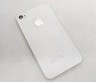 Крышка Apple iPhone 4 белая А-сток