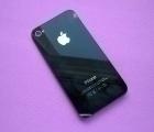 Крышка Apple iPhone 4s чёрная (А сток)