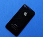 Крышка Apple iPhone 4s B-сток чёрная оригинал