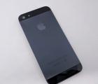 Крышка (корпус) Apple iPhone 5 (A-сток) чёрный