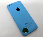 Корпус крышка Apple iPhone 5c синяя C-сток