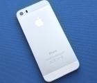 Крышка корпус Apple iPhone 5s (А сток) серебро