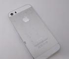 Корпус крышка Apple iPhone 5s C-сток серебро