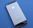 Крышка корпус Apple iPhone 5s (B сток) серая