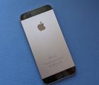 Крышка Apple iPhone 5s space gray корпус А-сток