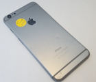 Крышка Apple iPhone 6 Plus серый C-сток + стекло камеры