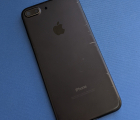 Крышка (корпус) Apple iPhone 7 Plus C-сток чёрная
