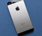 Крышка (корпус) Apple iPhone SE А-сток space gray серый