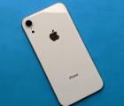 Корпус Apple iPhone XR крышка белая B-сток