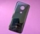 Крышка Motorola Moto E5 (А-сток) чёрная