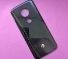 Крышка Motorola Moto G6 Play (А-сток) чёрная