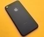 Крышка Apple iPhone 7 корпус чёрный (A сток)