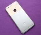 Корпус Google Pixel 1 крышка серебро А-сток