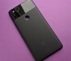 Крышка Google Pixel 2 чёрный (А сток)