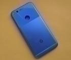 Корпус (крышка) Google Pixel 1 сиий B-сток