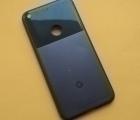 Корпус (крышка) Google Pixel 1 чёрный B-сток